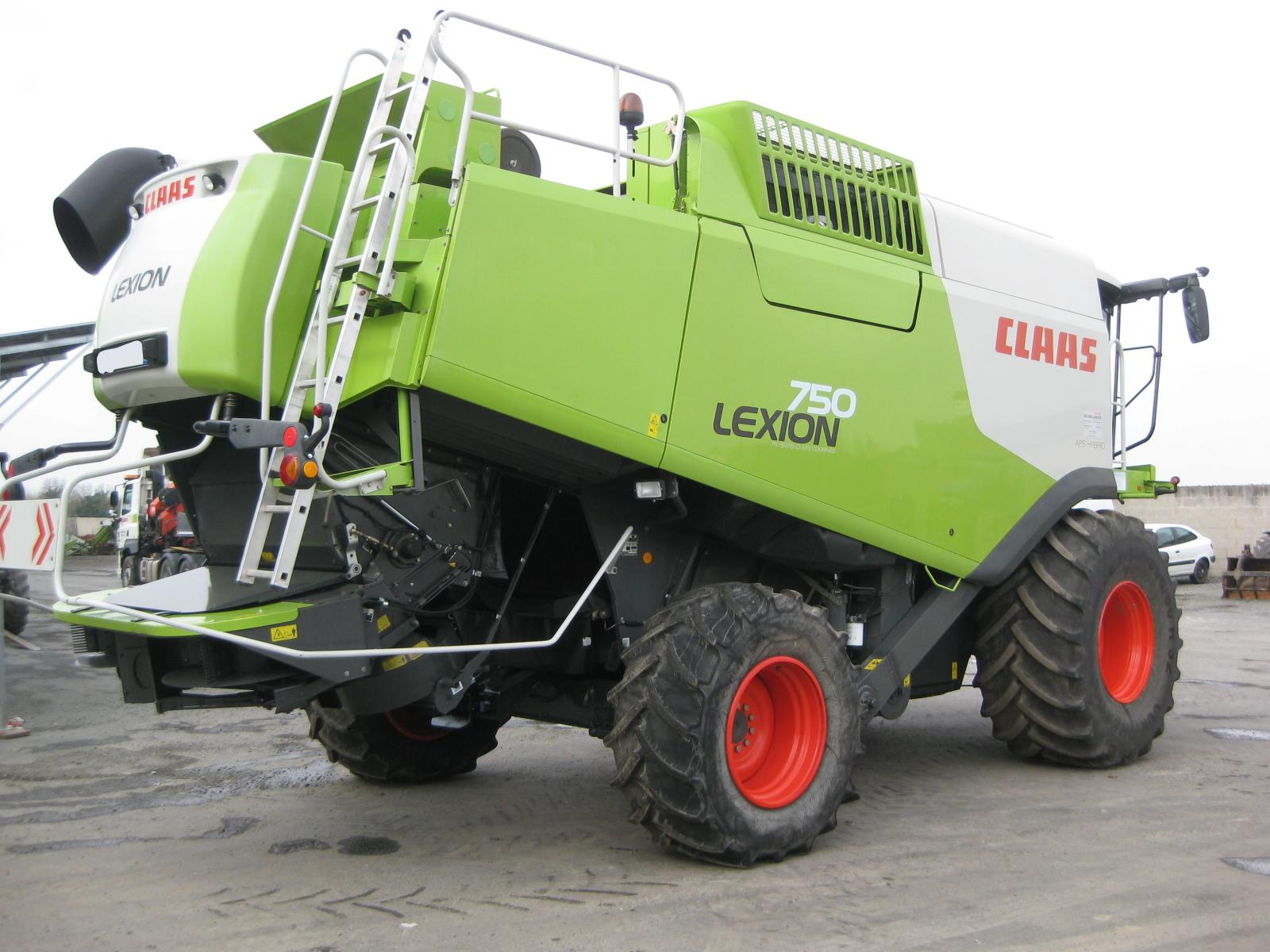 CLAAS - LEXION 750